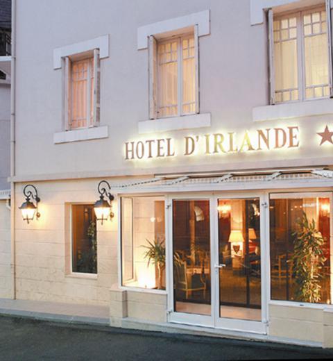 Hotel d'Irlande 3 étoiles accueil