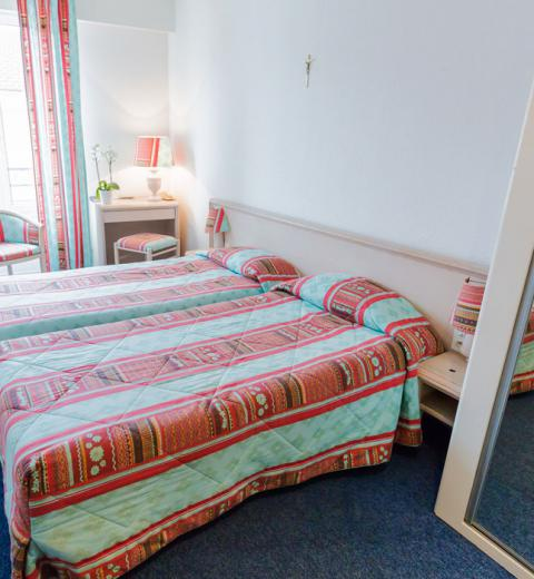 Hotel d'Irlande 3 étoiles Lourdes chambre double