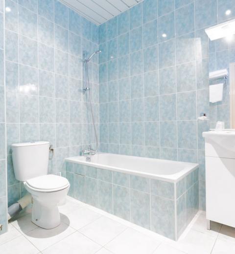 Hotel d'Irlande 3 étoiles Lourdes salle de bains