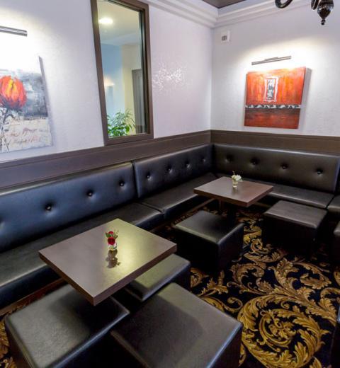Hotel d'Irlande 3 étoiles Lourdes le salon moderne